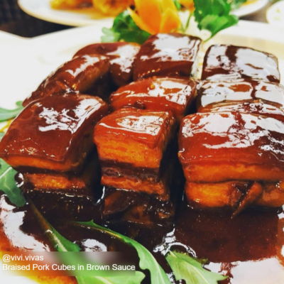 Red Braised Pork Belly